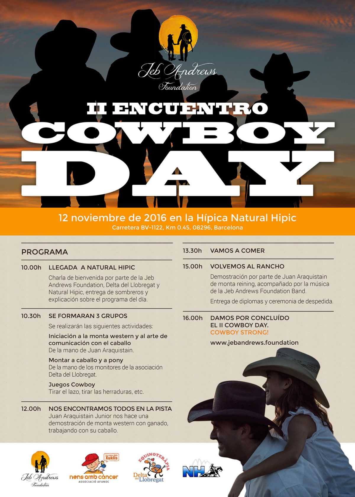 Segunda edición Cowboy Day en Natural Hipic (12/11/2016)