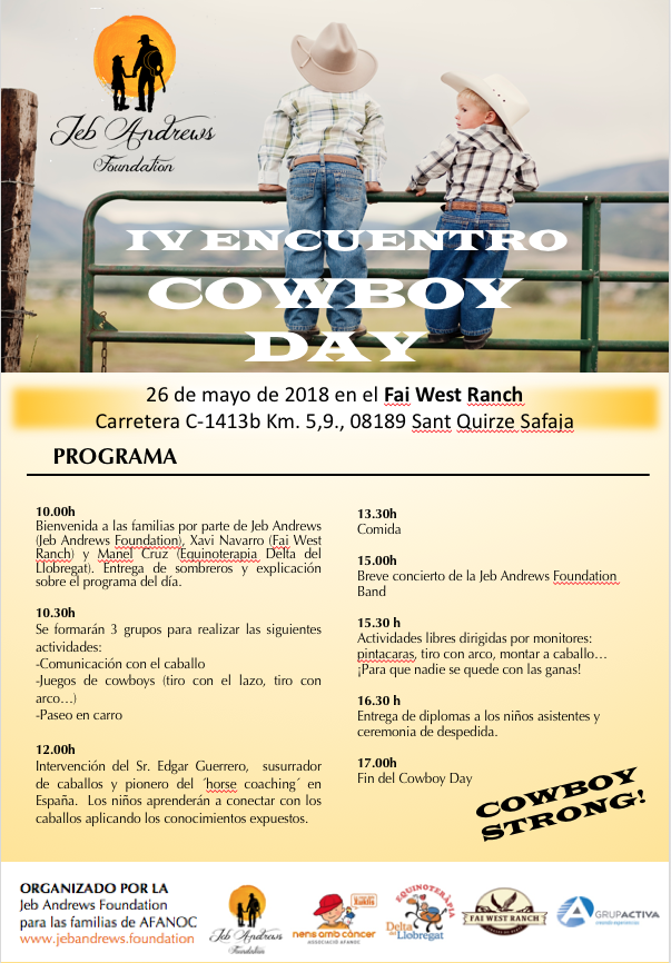 Jeb Andrews Foundation - Cowboy day